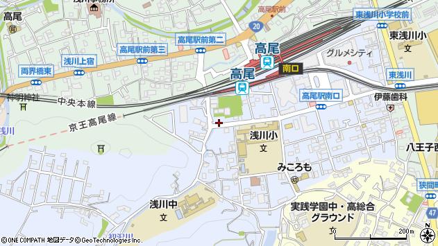 東京都八王子市初沢町1355周辺の地図