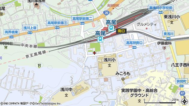 東京都八王子市初沢町1353周辺の地図