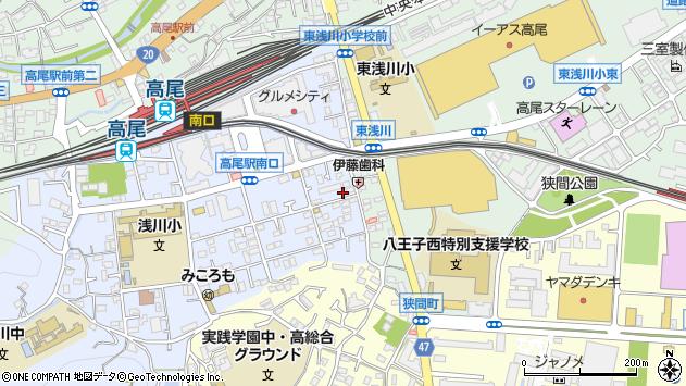東京都八王子市初沢町1280周辺の地図