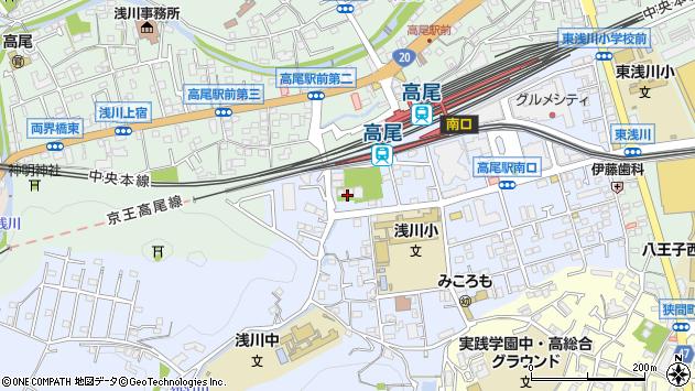 東京都八王子市初沢町1352周辺の地図