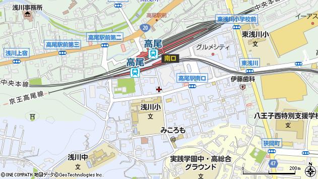 東京都八王子市初沢町1347周辺の地図