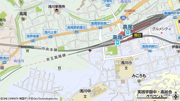 東京都八王子市初沢町1472周辺の地図