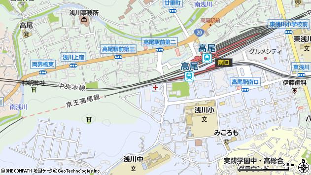 東京都八王子市初沢町1464周辺の地図