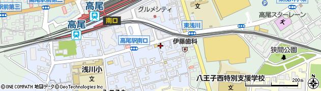 東京都八王子市初沢町1278周辺の地図