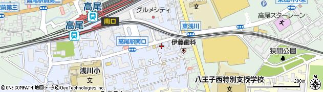 東京都八王子市初沢町1279周辺の地図