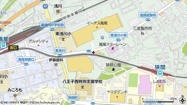 東京都八王子市東浅川町540-36周辺の地図