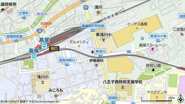 東京都八王子市初沢町1276周辺の地図