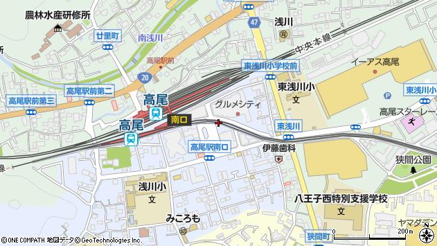 東京都八王子市初沢町1231周辺の地図