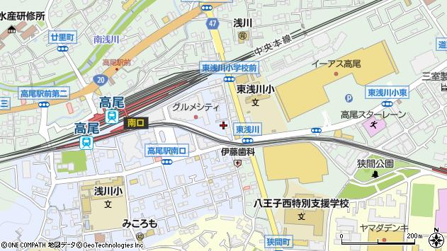 東京都八王子市初沢町1274周辺の地図