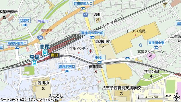 東京都八王子市初沢町1263周辺の地図