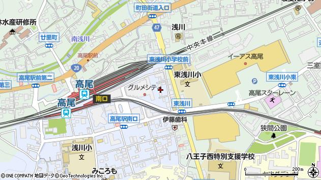 東京都八王子市初沢町1264周辺の地図