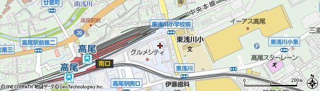 東京都八王子市初沢町1259周辺の地図