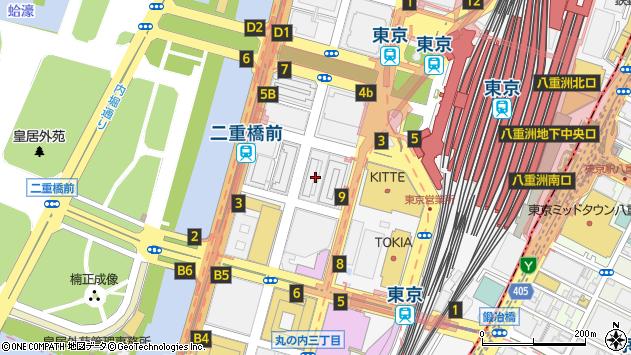 東京都千代田区丸の内2丁目5-1周辺の地図