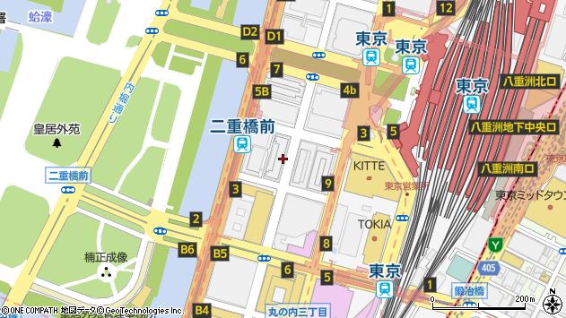 東京都千代田区丸の内2丁目2-3周辺の地図