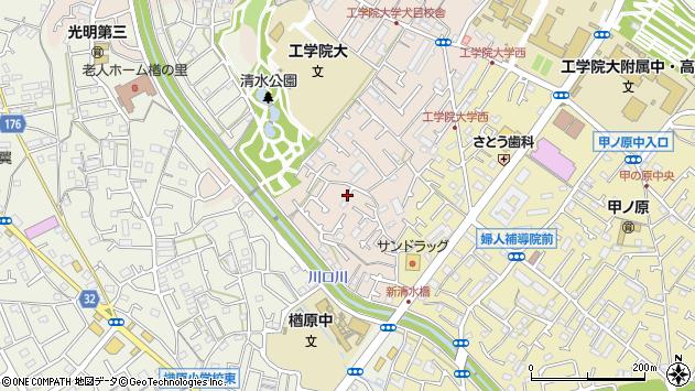 東京都八王子市犬目町周辺の地図