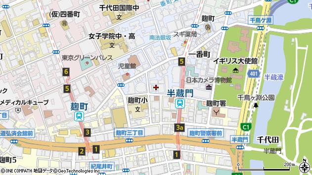 東京都千代田区一番町17-4周辺の地図
