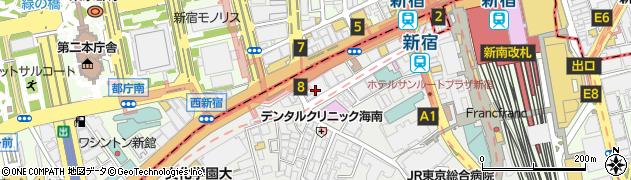 東京都渋谷区代々木2丁目11周辺の地図