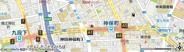 東京都千代田区神田神保町2丁目4周辺の地図
