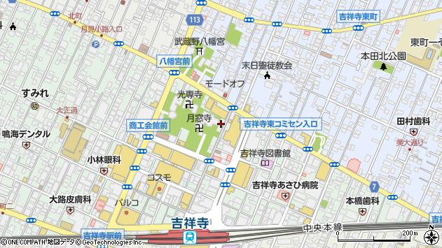 東京都武蔵野市吉祥寺本町1丁目11-24周辺の地図
