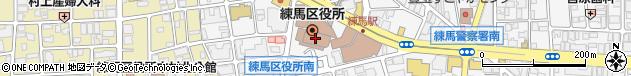 東京都練馬区周辺の地図