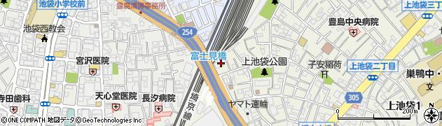 東京都豊島区上池袋2丁目28-5周辺の地図