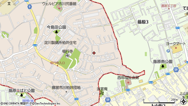 千葉県市川市柏井町1丁目 住所一覧から地図を検索