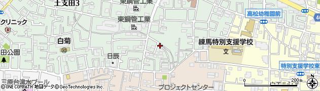 東京都練馬区土支田2丁目周辺の地図