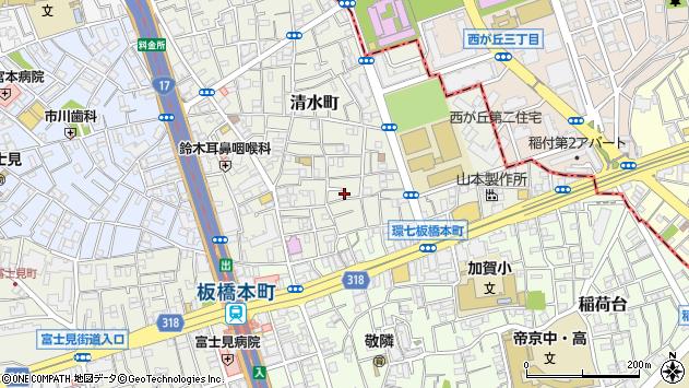 東京都板橋区清水町11-2周辺の地図