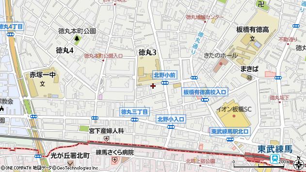東京都板橋区徳丸3丁目21-4周辺の地図