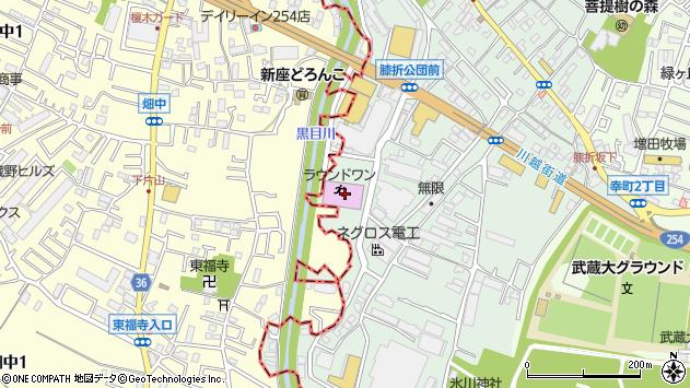 埼玉県朝霞市膝折町2丁目16-10周辺の地図