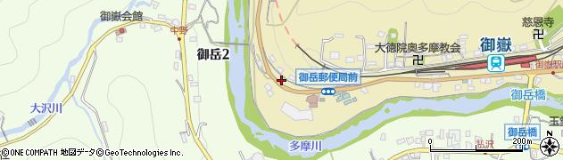 東京都青梅市御岳本町150周辺の地図