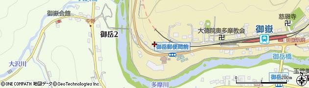 東京都青梅市御岳本町190周辺の地図