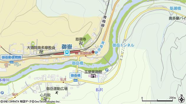 東京都青梅市御岳本町359周辺の地図
