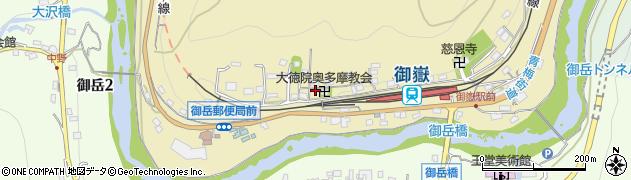 東京都青梅市御岳本町252周辺の地図