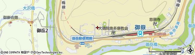 東京都青梅市御岳本町233周辺の地図