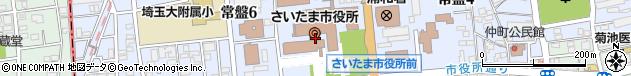 さいたま市周辺の地図
