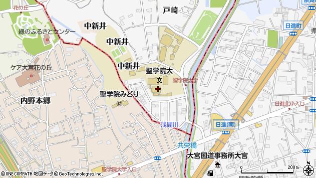 埼玉県上尾市戸崎1周辺の地図