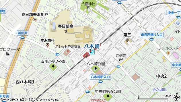 八木崎駅(埼玉県春日部市)の地図・口コミ・周辺情報│ ...
