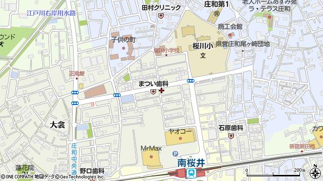 埼玉県春日部市大衾 地図(住所一覧から検索) :マピオン