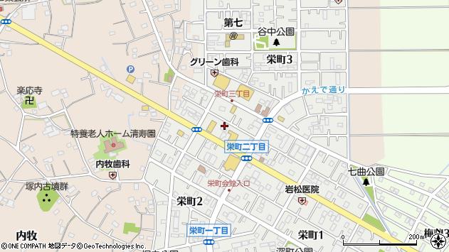埼玉県春日部市栄町2丁目267-1 地図(住所一覧から検索 ...