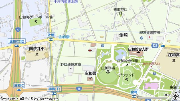 埼玉県春日部市金崎880 地図(住所一覧から検索) :マピオン