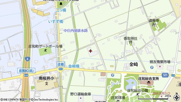 埼玉県春日部市金崎71-1 地図(住所一覧から検索) :マピオン