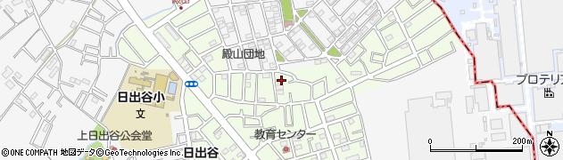 埼玉県桶川市上日出谷周辺の地図