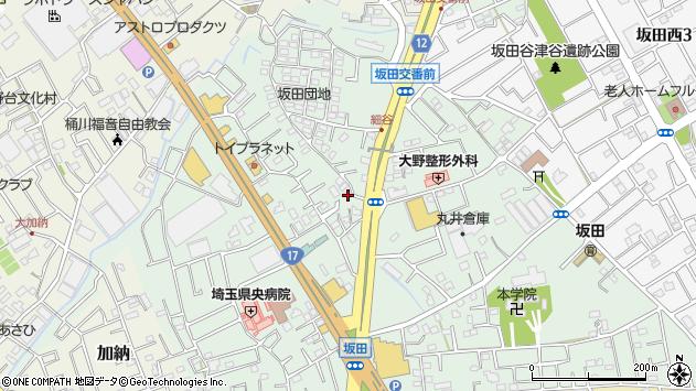 埼玉県桶川市坂田1662周辺の地図