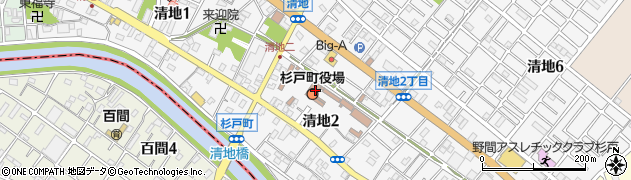 埼玉県北葛飾郡杉戸町周辺の地図