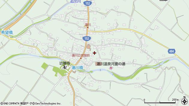 長野県茅野市北山周辺の地図
