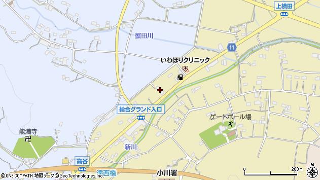 埼玉県比企郡小川町上横田906-2周辺の地図