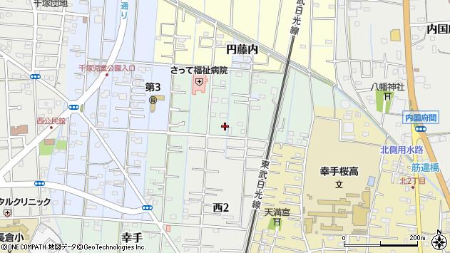埼玉県幸手市幸手3430周辺の地図