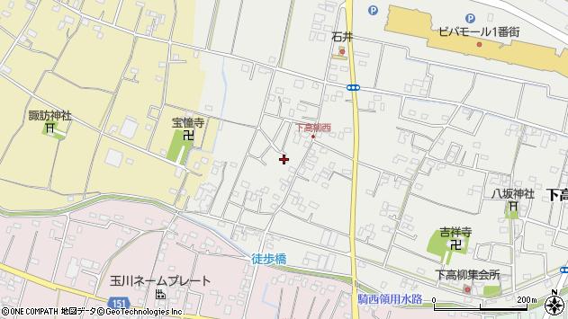 埼玉県加須市下高柳1529周辺の地図
