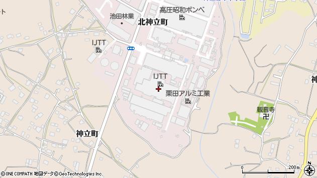 茨城県土浦市北神立町4-2周辺の地図